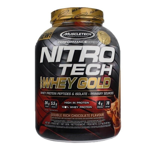 Muscletech Nitrotech %100 Whey Gold Protein 2270 Gr