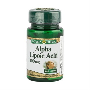 NatureS Bounty Alpha Lipoic Acid 100Mg 60 Kapsül