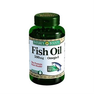 NatureS Bounty Fish Oil 500 Mg / Omega-3 60 Kapsül