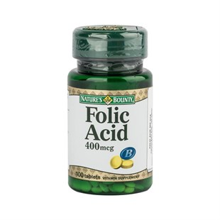 NatureS Bounty Folic Acid 400Mcg 100 Tablet