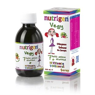 Nutrigen Vegy Şurup 200 ml