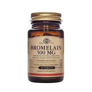 Solgar Bromelain 500Mg Tablet